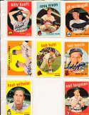 Hoyt Wilhelm Baltimore Orioles #349  1959 Topps Signed card SIGNED 1959 Topps baseball card