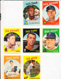 Bob Mabe Reds #356  1959 Topps Signed card SIGNED 1959 Topps baseball card