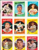 Bob Nieman Baltimore Orioles #375  1959 Topps Signed card SIGNED 1959 Topps baseball card