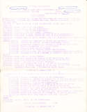 Superbowl 1 1967 Press Write Ups and Notes   14 pages legal