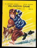 10/8 1938 Muhlenberg vs Villanova football program