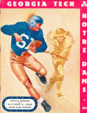 1942  10/3 Georgia Tech vs Notre Dame football program