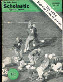 Notre Dame football review 1954 Scholastic Issue - spine tear