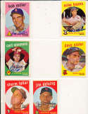 Sherm Lollar Chicago White Sox #385 Signed topps card SIGNED 1959 Topps baseball card