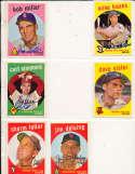 Sherm Lollar Chicago White Sox #385 Signed topps card SIGNED 1959 Topps baseball card