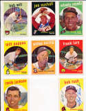 Joe Nuxhall Reds #389 signed 1959 topps card SIGNED 1959 Topps baseball card