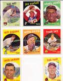Bob Rush Milwaukee Braves #396 1959 signed topps SIGNED 1959 Topps baseball card