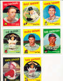 Daryl Spencer San francisco Giants #443 signed 1959 topps card SIGNED 1959 Topps baseball card