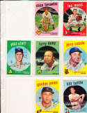 Larry Doby Detroit Tigers #455 Signed 1959 topps baseball card SIGNED 1959 Topps baseball card
