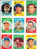 Johnny Podres Los Angeles Dodgers #495 Signed 1959 topps card SIGNED 1959 Topps baseball card