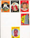 Bob Hale Baltimore Orioles #507 Signed 1959 topps card SIGNED 1959 Topps baseball card
