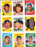 Ray Webster Cleveland indians #531 Signed 1959 topps card SIGNED 1959 Topps baseball card