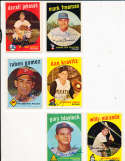 Ruben Gomez Phillies #535 Signed 1959 topps card SIGNED 1959 Topps baseball card