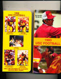 1990 USC Football Press Media Guide; complete; photo's
