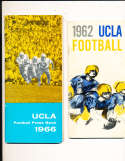 1962 UCLA Football Press Media Guide; complete; photo's