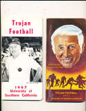 1967 USC Football Press Media Guide; complete; photo's