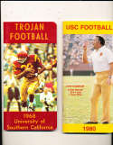 1980 USC Football Press Media Guide; complete; photo's