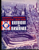 1939 Detroit Tigers Baseball Yearbook exmt -nrmt condition! 25 pages