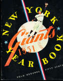 1951 New York Giants Baseball Yearbook (Willie Mays Rookie!)