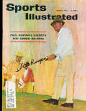 1962 8/9 Paul Runyan Signed sports Illustrated em (d02)
