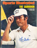 1975 6/30 Lou Graham golf  Signed  Sports Illustrated  (a1)