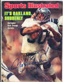1978 1/2 Marvin Van Eeghen Raiders label removed Signed  Sports Illustrated (a1)
