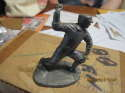 Christy Mathewson Giants Metallic Creations signatures 1979 Pewter Statue