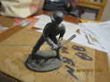 Mel Ott New York Giants Metallic Creations Signature 1979  Pewter statue
