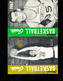 1967 Official NCAA Basketball Guide Jim Burns Northwestern
