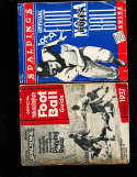 1939 Spalding NCAA football Guide; 300 pages; photo's; cover crease