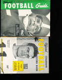 1962 Official NCAA Football Guide  Jerry Gross Detroit NCAAFB1