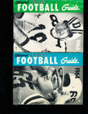 1964 Official NCAA Football Guide  steve Delong Tennessee crease
