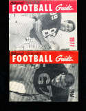 1960 Official NCAA Football Guide  Kurt Gegner Washington