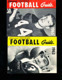1963 Official NCAA Football Guide  Jack Concannon Boston College