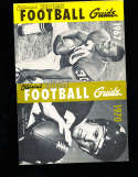 1967 Official NCAA Football Guide Oscar Reed Colorado State Univ.