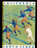 1939 10/7 California vs Saint Mary's football Program;