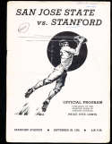 1935  9/28 San Jose State vs Stanford football program;