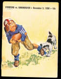 1938  11/5 Washington vs Stanford football program;