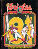 1984 Baltimore Orioles Baseball Yearbook em