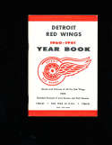 1960 - 1961 Detroit Red Wings Yearbook Press Media Guide NM