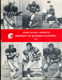 1973 USC Spring Football Prospectus guide - pat haden Anthony Davis Lynn Swann CFBmg18