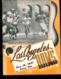 1947 11/16 Los Angeles Rams vs Chicago Bears Football program