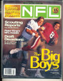 1995 Sports Illustrated Presents NFL  Premier Troy Aikman & Steve Young