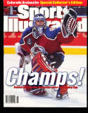 1996 Sports Illustrated Presents no label Patrick Roy Avalanche