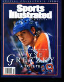 1999 Sports Illustrated Presents no label Wayne Gretzky Tribute