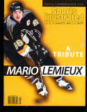 1997 Sports Illustrated Presents no label Mario Lemieux Penquins