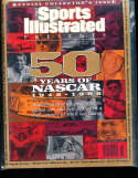 1998 Sports Illustrated Presents no label NASCAR 50 years