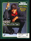 1997 Sports Illustrated Golf Plus Tiger Woods Label