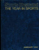 1981  Year in Sports Sports Illustrated hard bound edition loose