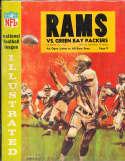 1964 12/13  Los Angeles Rams vs Green Bay Packers Football Program